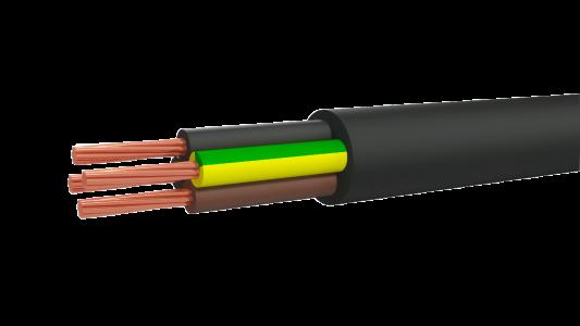 Кабель гибкий силовой в резиновой изоляции
